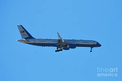 Photograph - Air Force 2 by Bob Sample