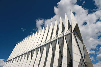 Photograph - Air Force Academy Chapel by Allen Beatty