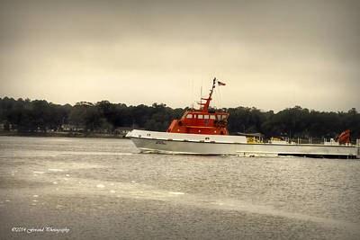 Photograph - Air Force Cutter  by Debra Forand
