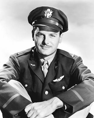 1943 Movies Photograph - Air Force, Gig Young, 1943 by Everett
