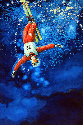 Sports Paintings - Air Force by Hanne Lore Koehler