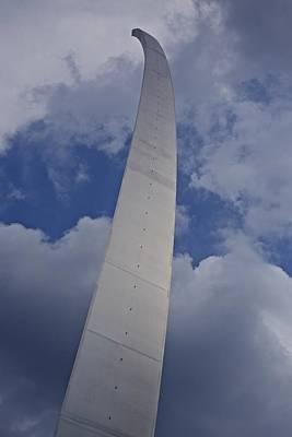 Photograph - Air Force Memorial 1 by Karen Saunders