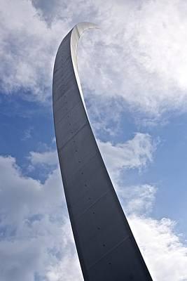 Photograph - Air Force Memorial 2 by Karen Saunders