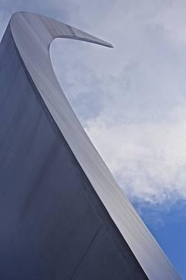 Photograph - Air Force Memorial 3 by Karen Saunders