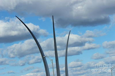 Photograph - Air Force Monument 5 by Rod Ismay