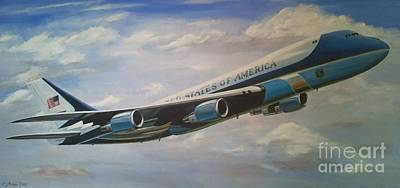 Air Force One 89th Airlift Wing 6 X 3 Feet Original