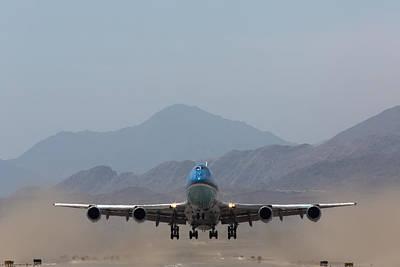 Air Force One Takeoff Art Print