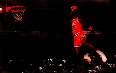 Wilkins Painting - Air Jordan Crusing Altitude by Brian Reaves