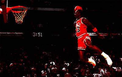 Patrick Ewing Digital Art - Air Jordan In Flight IIi by Brian Reaves