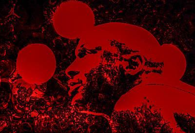 Patrick Ewing Digital Art - Air Jordan Looking Back by Brian Reaves