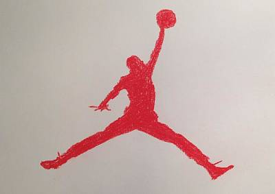 Air Jordan Art Print by Peter Virgancz