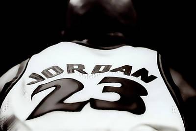 Patrick Ewing Mixed Media - Air Jordan Six Seconds Left by Brian Reaves
