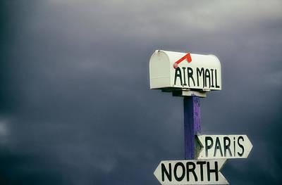 Katharine Hepburn - Air Mail by Karol Livote