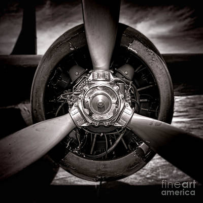 Radials Photograph - Air Power by Olivier Le Queinec