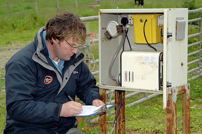 Monitoring Photograph - Air Quality Monitoring by Public Health England