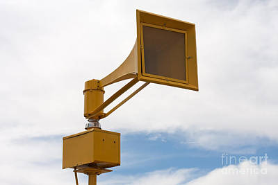 Photograph - Air Raid Siren by Gunter Nezhoda