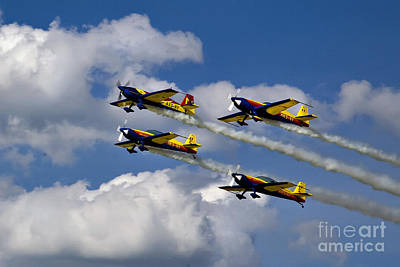 Photograph - Air Show Hawks Of Romania by Daliana Pacuraru