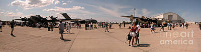 Photograph - Air Show Panaroma 2 by Tom Brickhouse