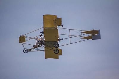 Photograph - Air Show Yellow  by John McGraw