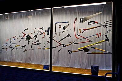 Photograph - Air Tools by SC Heffner