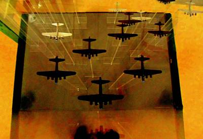 Air War Art Print by Randall Weidner