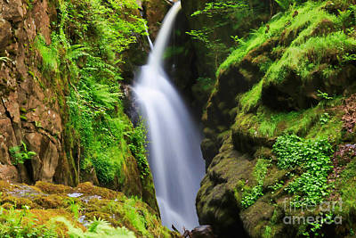 Aira Force Wall Art - Photograph - Aira Force In Lake District National Park by Louise Heusinkveld