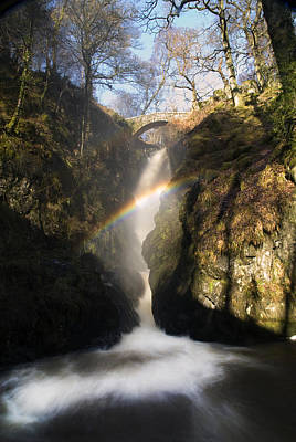 Aira Force Wall Art - Photograph - Aira Force Waterfall  by Andrew James