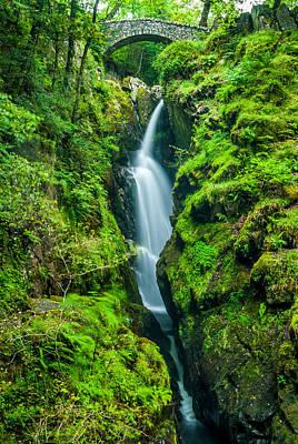 Aira Force Wall Art - Photograph - Aira Force Waterfall by David Ross