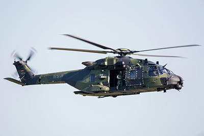 Photograph - Airbus Nh-90 Of The German Army by Timm Ziegenthaler