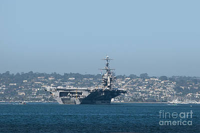 Photograph - Aircraft Carrier by Brenda Kean