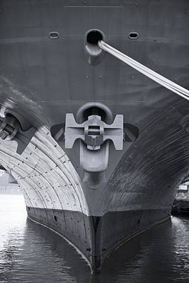 Photograph - Aircraft-carrier Uss Intrepid by Alex Potemkin
