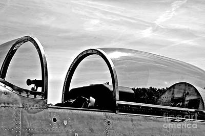Aircraft Cockpit Ww2 P3 Art Print