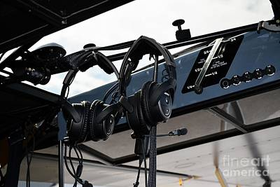 Ready To Fly Photograph - Aircraft Headsets by JW Hanley