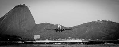 Photograph - Aircraft Leaves Rio De Janeiro by Celso Diniz