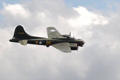 Photograph - Aircraft - Sally B B-17 Flying Fortress by Scott Lyons