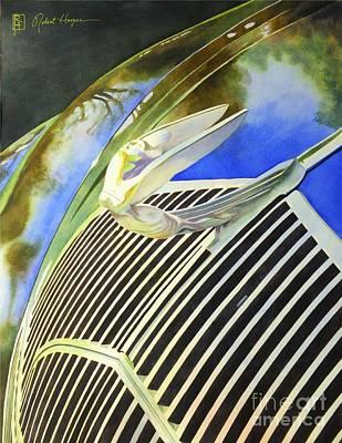 Painting - Airflow by Robert Hooper
