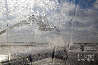 Photograph - Airliner Deicing by Jim West