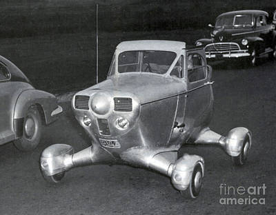 Photograph - Airphibian Roadable Aircraft 1947 by Science Source