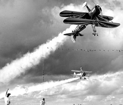 Airplane Acrobats Art Print