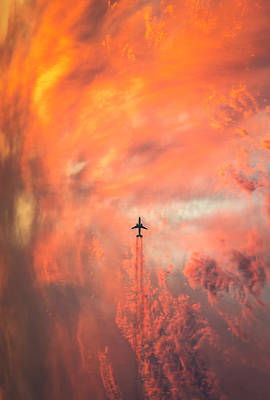 Aviation Photograph - Airplane by Christian Lindsten