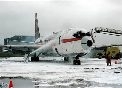 Photograph - Airplane Crash Drill II by Jim Fitzpatrick