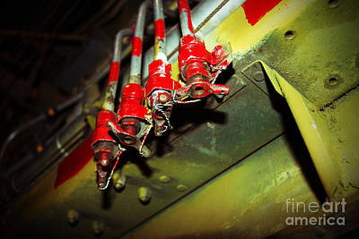 Photograph - airPLANE DETAIL by Afrodita Ellerman