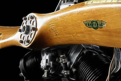Photograph - Airplane Engine by Steve McKinzie