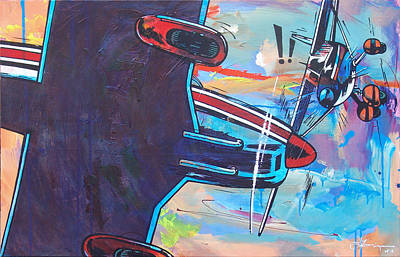 Airplane Mistake Art Print by Frans Mandigers