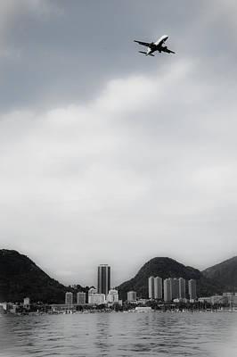 Photograph - Airplane Over Rio De Janeiro by Celso Diniz