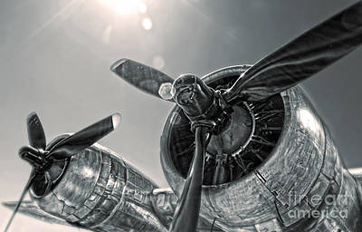 Airplane Propeller - 03 Art Print by Gregory Dyer