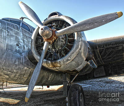Airplane Propeller - 04 Print by Gregory Dyer