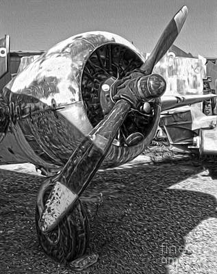 Airplane Propeller - 07 Art Print by Gregory Dyer