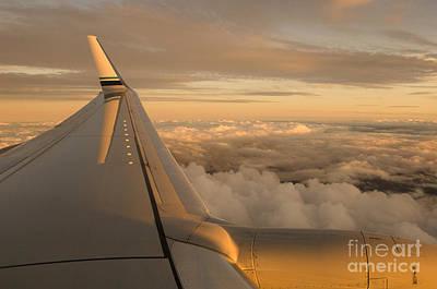 Passenger Plane Photograph - Airplane by Ron Sanford