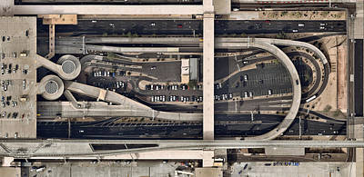 Photograph - Airport  Building With Parked Cars by Nearmap